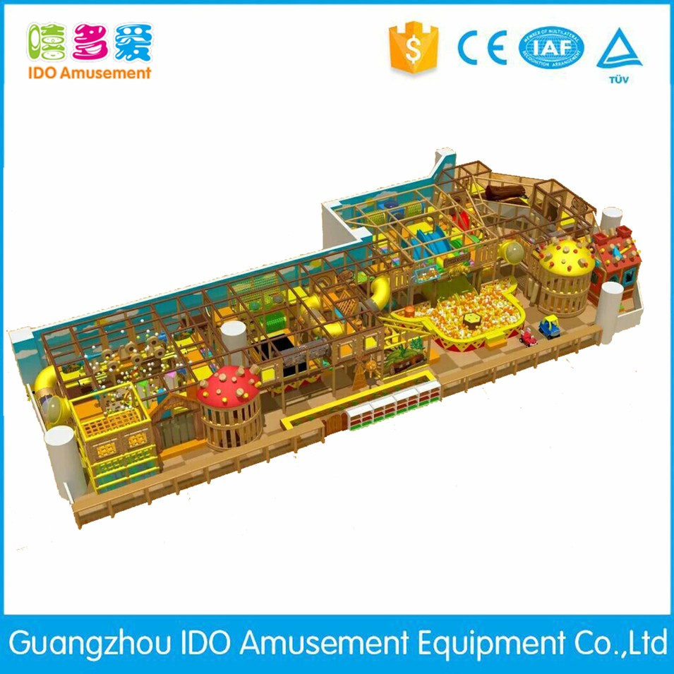 commercial colorful mcdonalds kids naughty castle indoor playground
