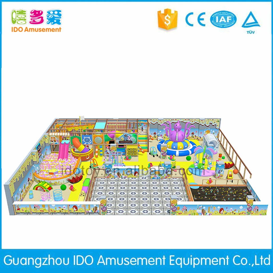 commercial colorful shopping mall toddler naughty castle indoor playground