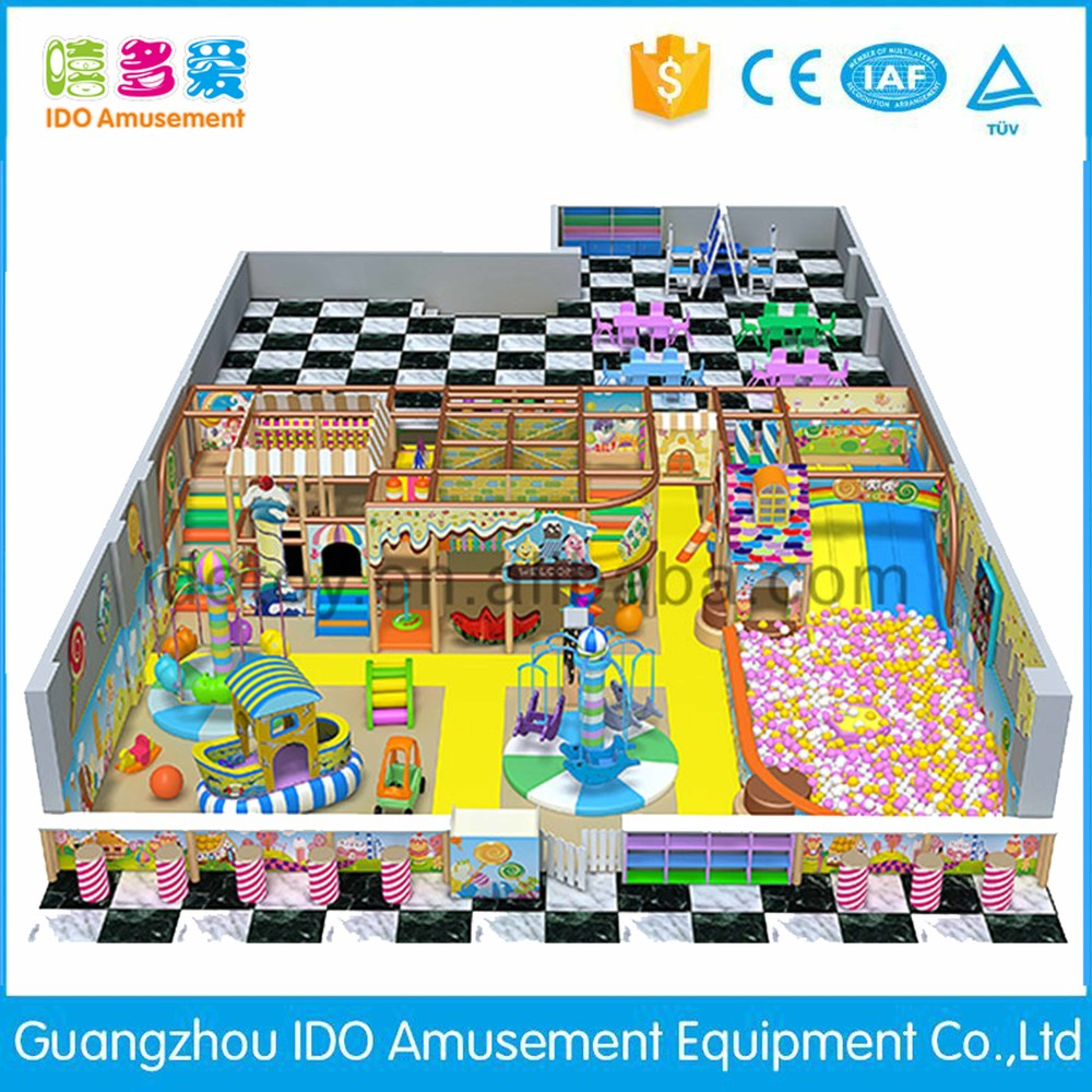 commercial colorful kindergarten kids soft play indoor playground