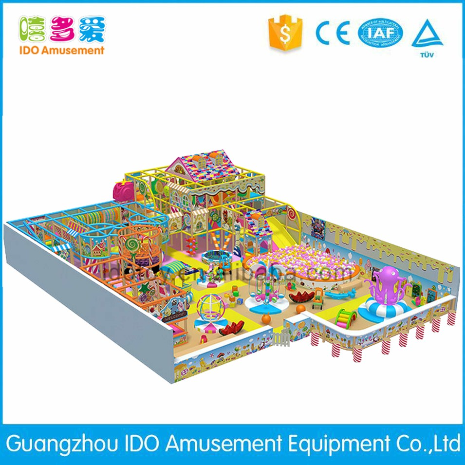 commercial colorful kindergarten children soft play indoor playground