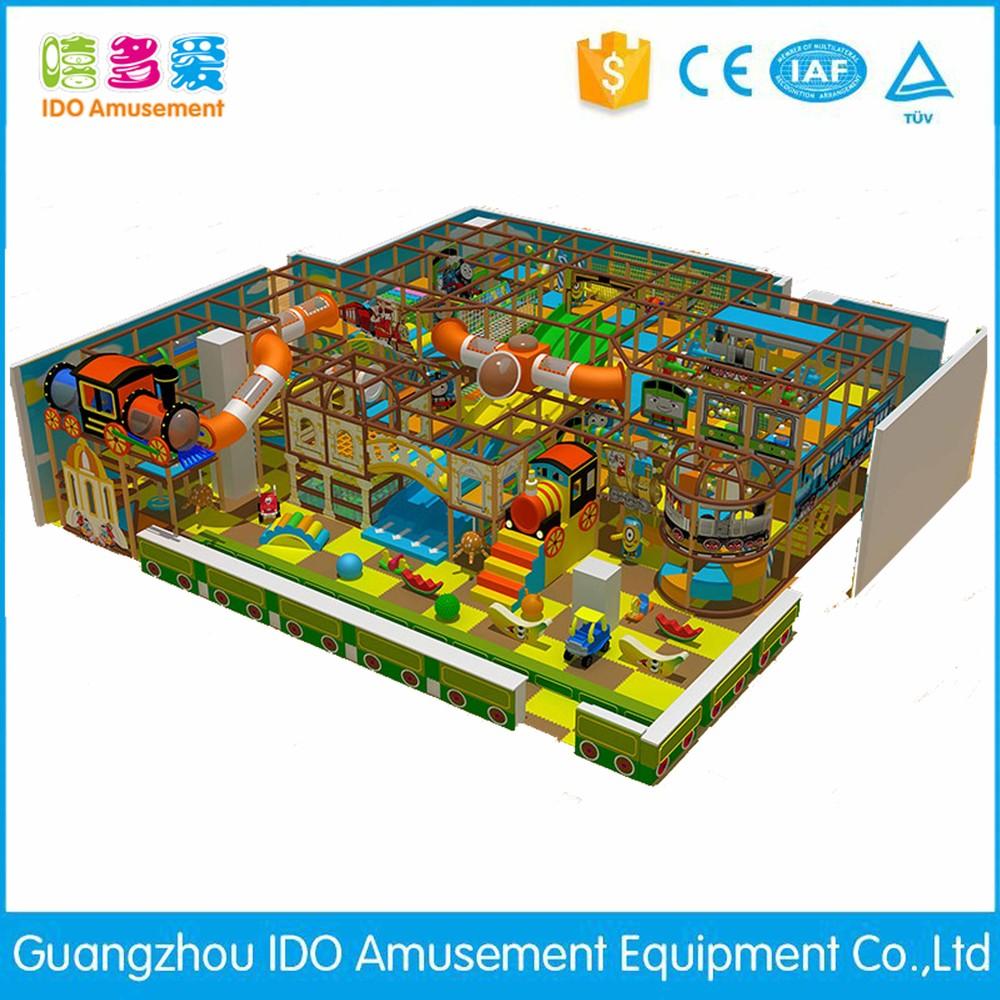 commercial colorful kindergarten children soft play equipment indoor playground