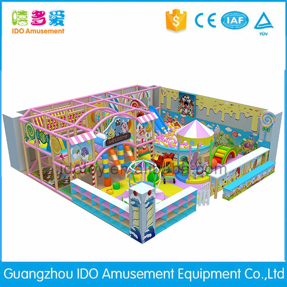 commercial colorful school kids soft play equipment indoor playground