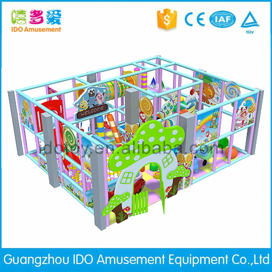 commercial colorful school kid soft play indoor playground