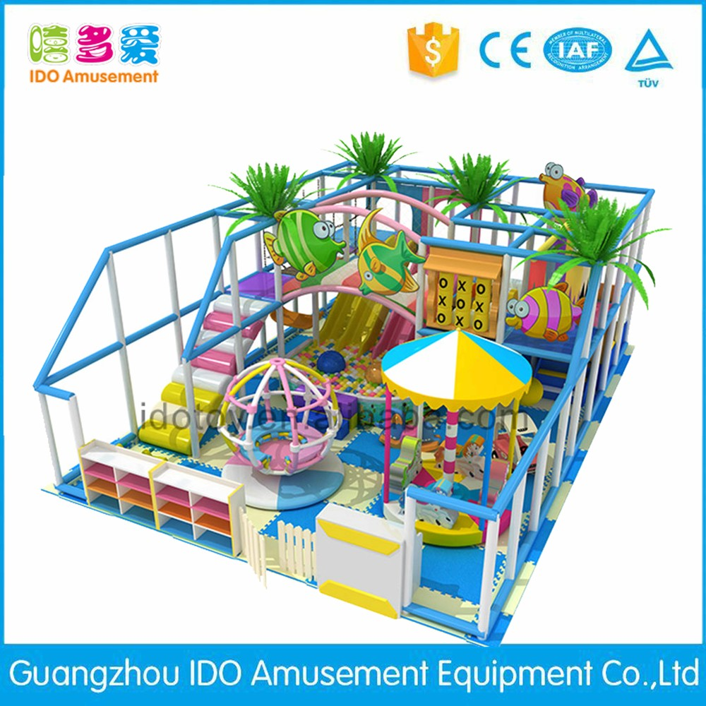 commercial colorful school children soft play indoor playground