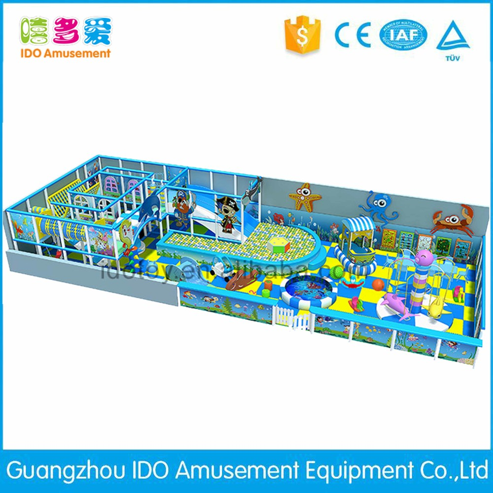 commercial colorful school toddler soft play indoor playground