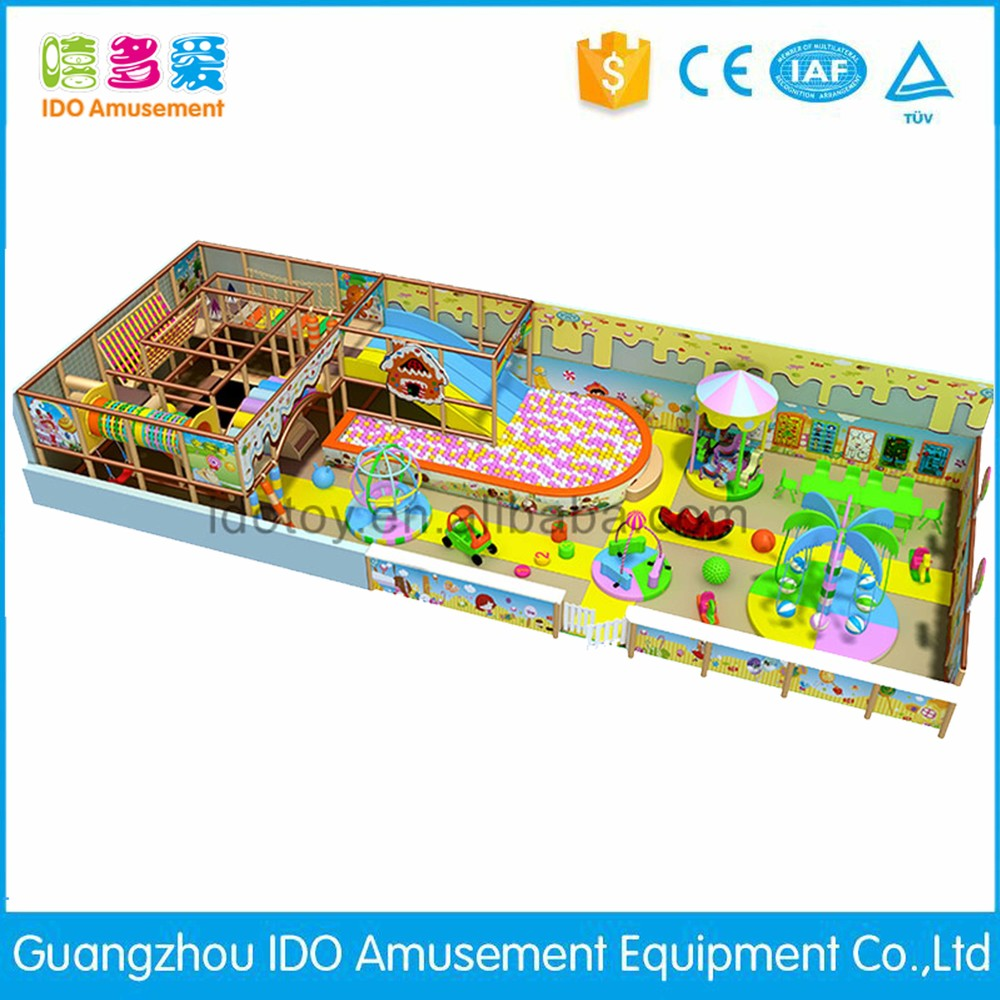 commercial colorful school toddler soft play equipment indoor playground