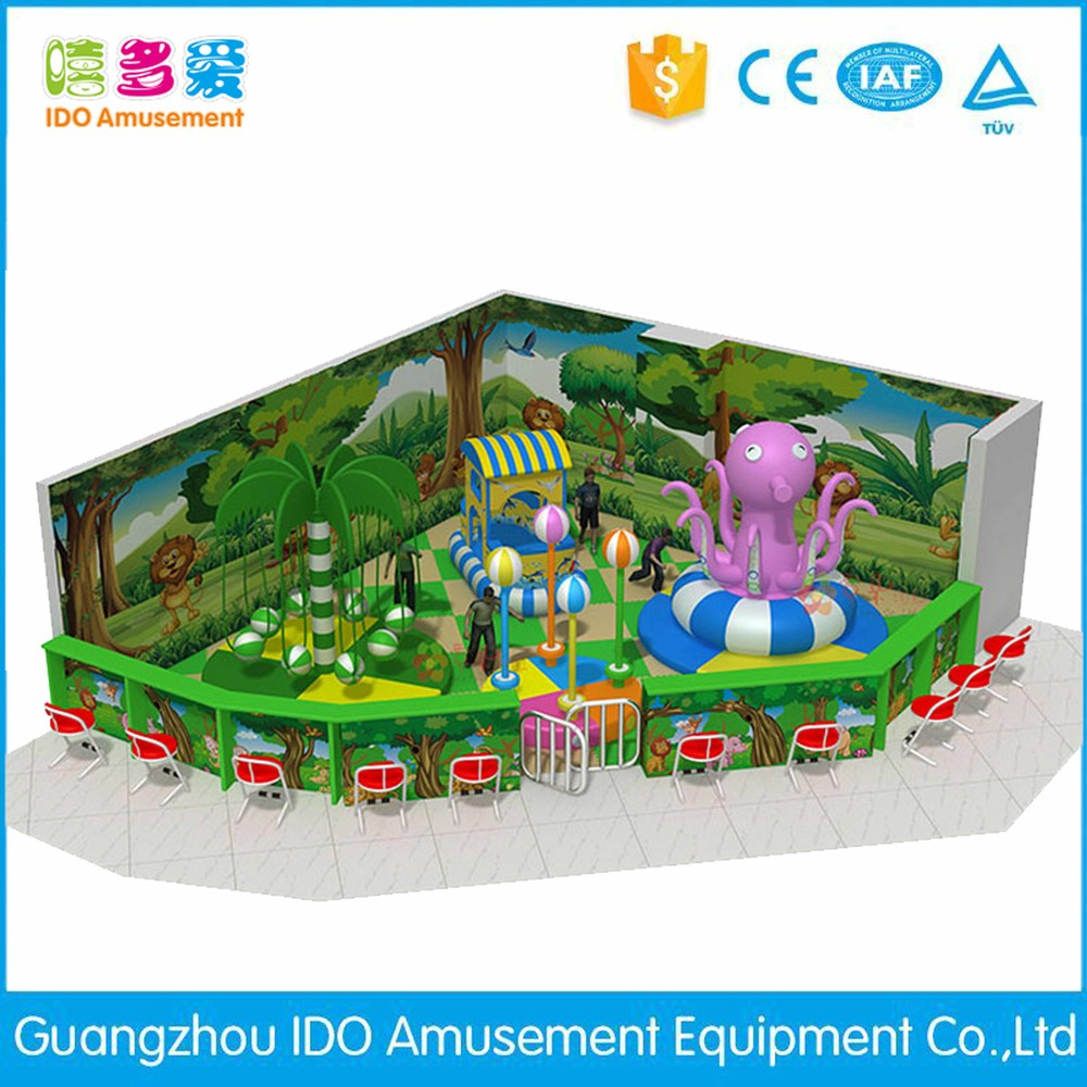 commercial environmental shopping mall kid naughty castle indoor playground