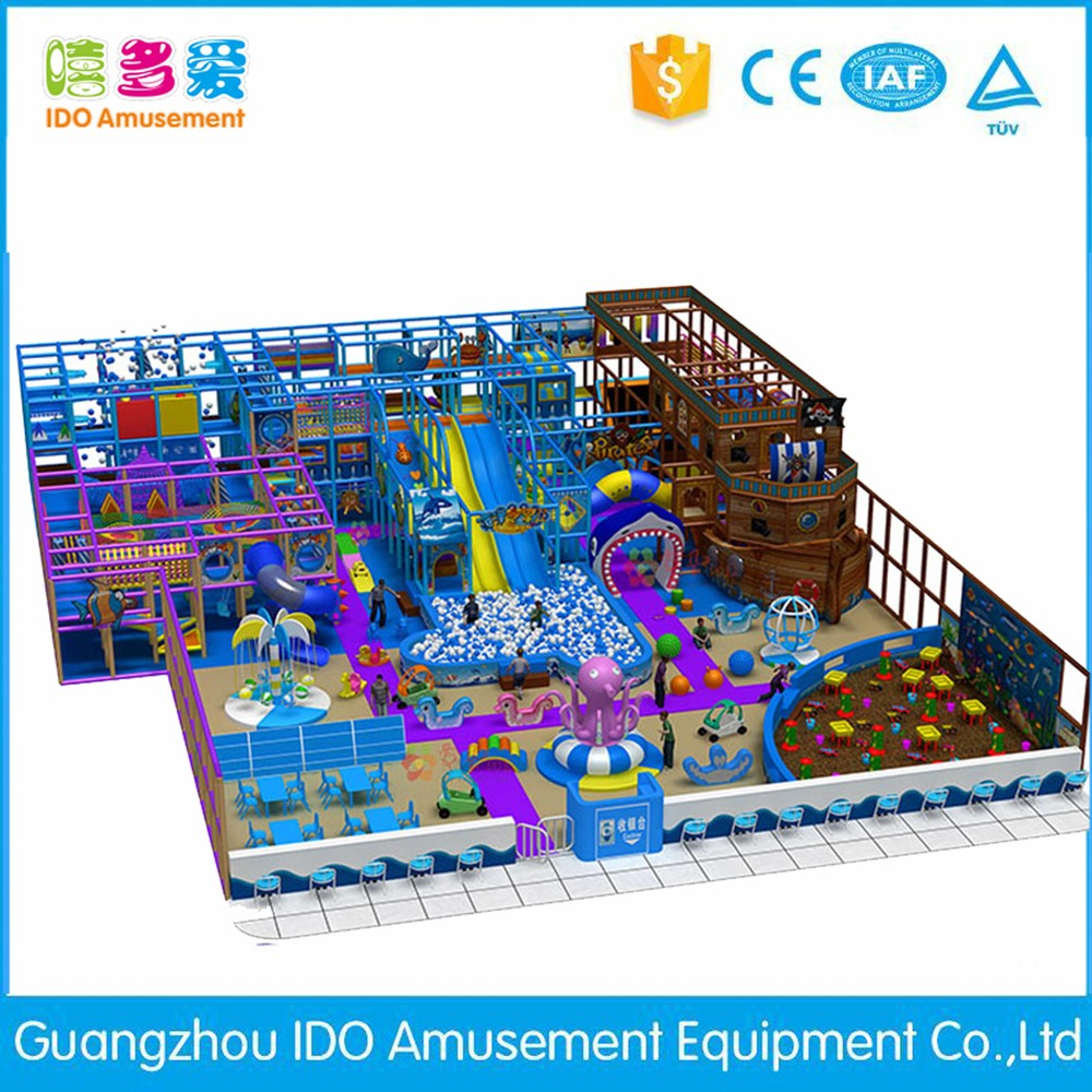 commercial environmental shopping mall kids naughty castle indoor playground