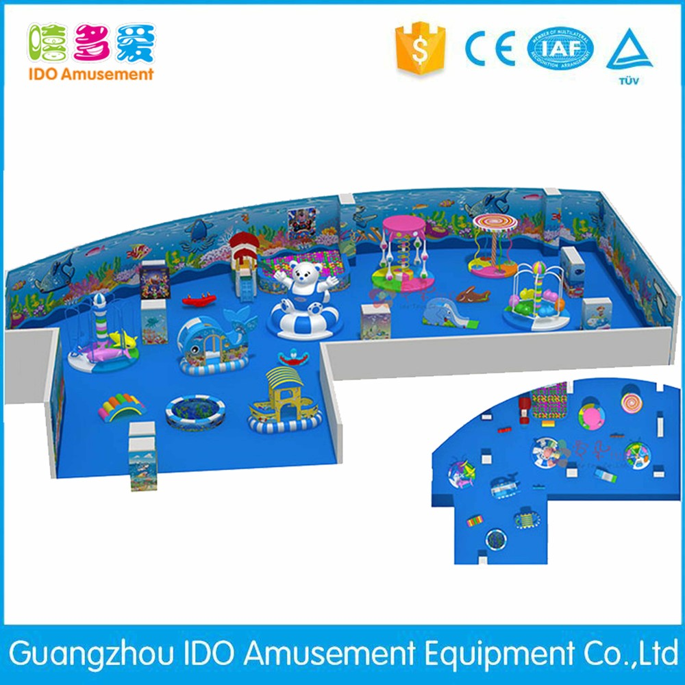 commercial environmental shopping mall children soft play equipment indoor playground
