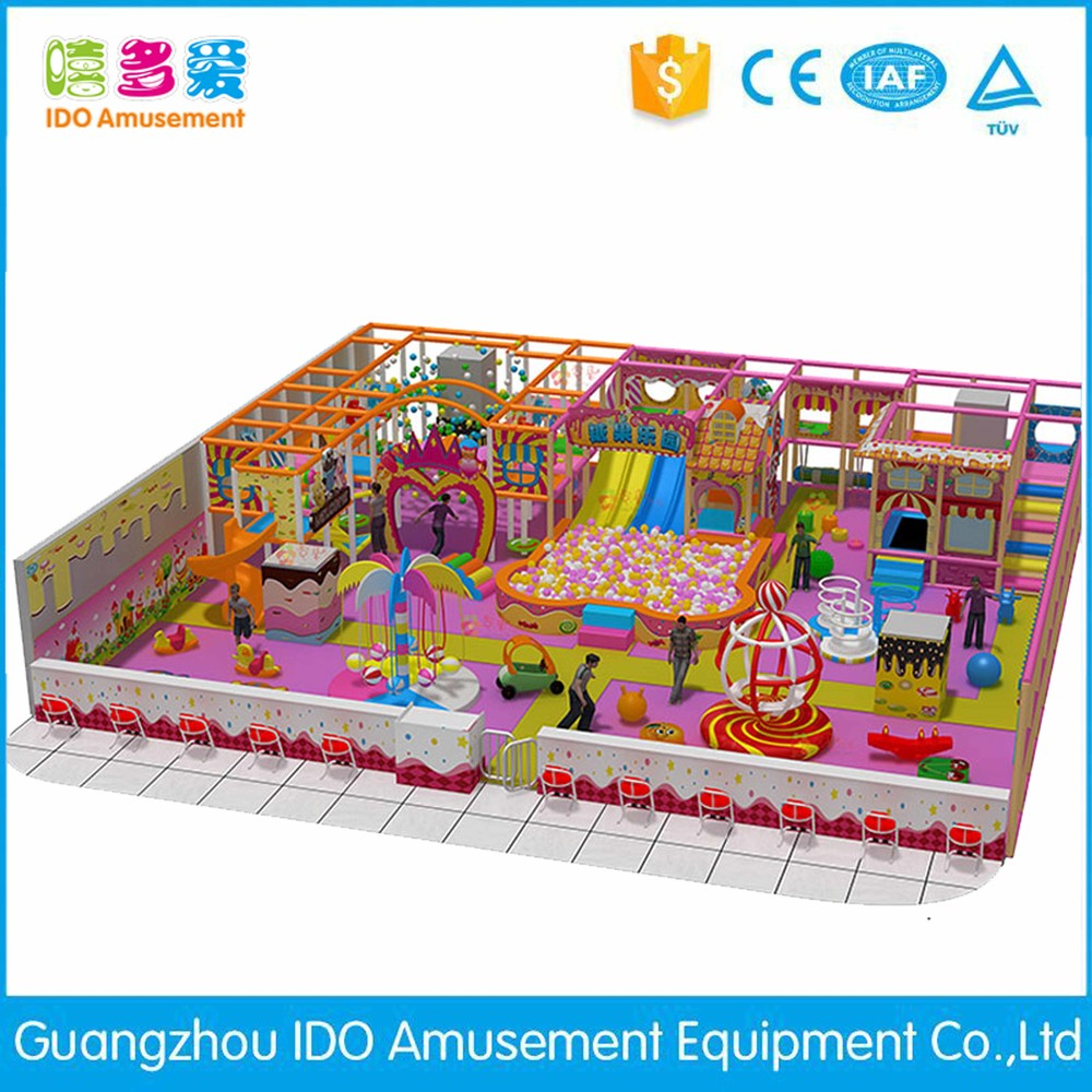commercial environmental shopping mall children naughty castle indoor playground