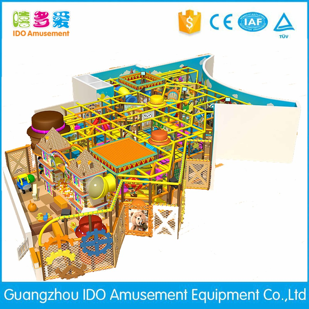 commercial environmental used toddler soft play indoor playground