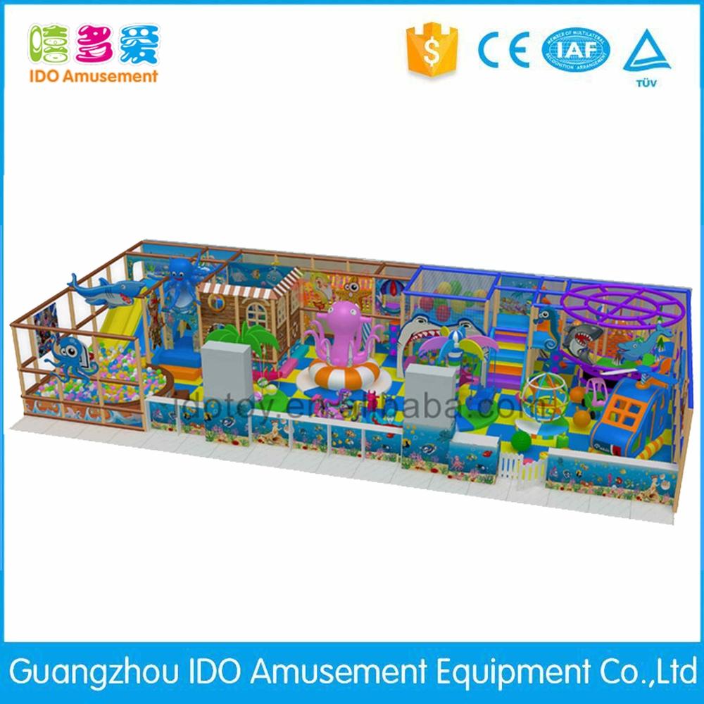 commercial environmental kindergarten kids soft play equipment indoor playground