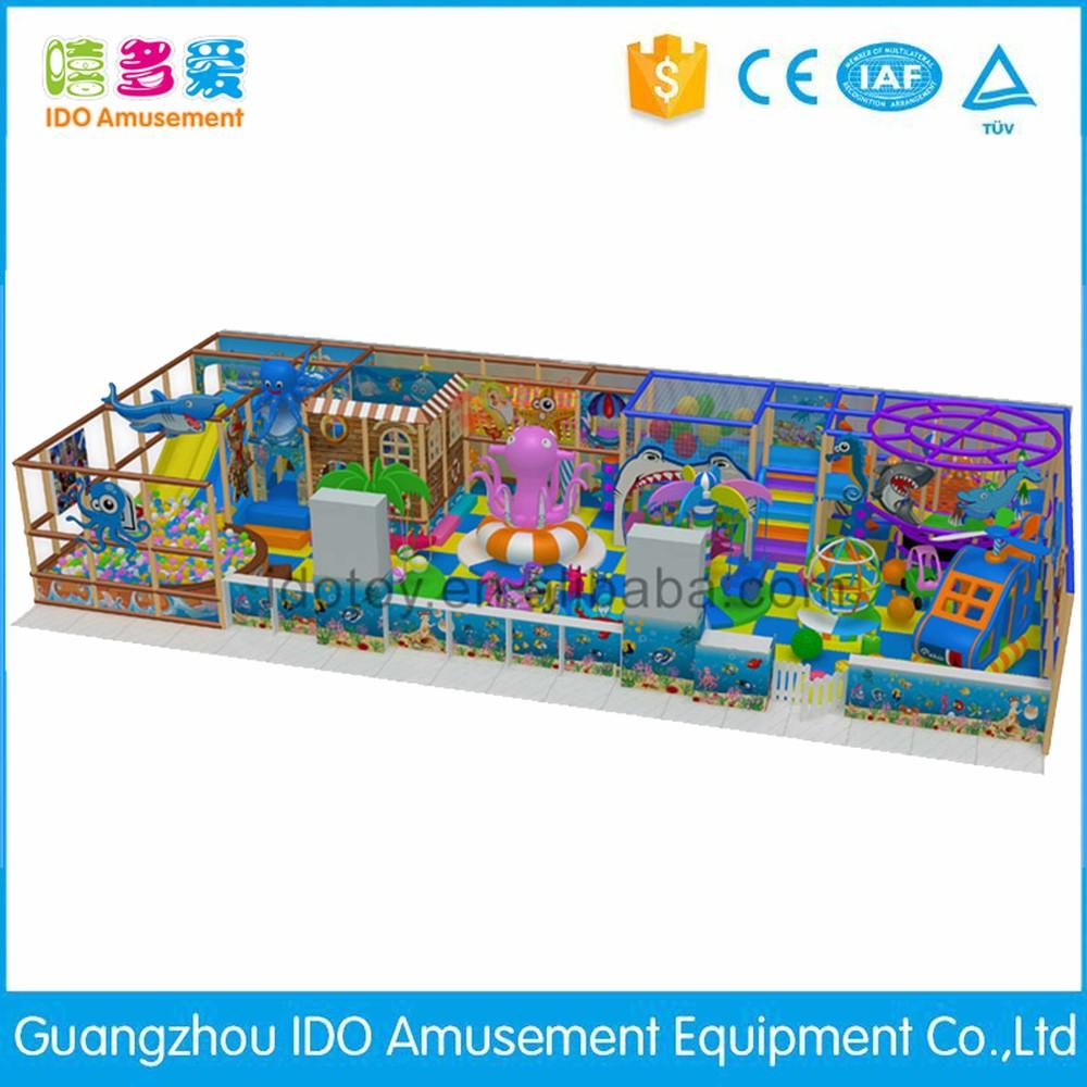 commercial environmental kindergarten kids naughty castle indoor playground