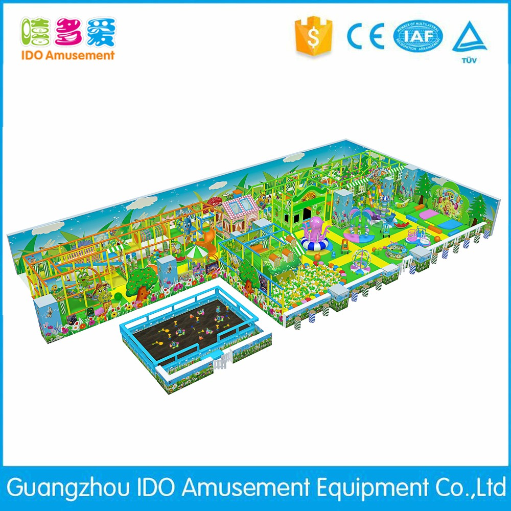 commercial safe small kid naughty castle indoor playground