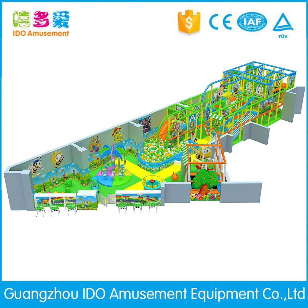 commercial safe small kids soft play indoor playground