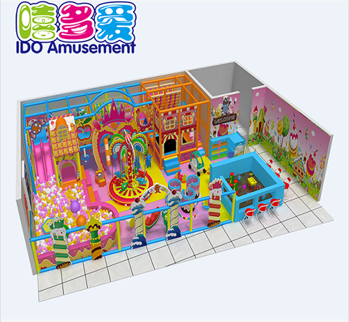 commercial safe small children naughty castle indoor playground