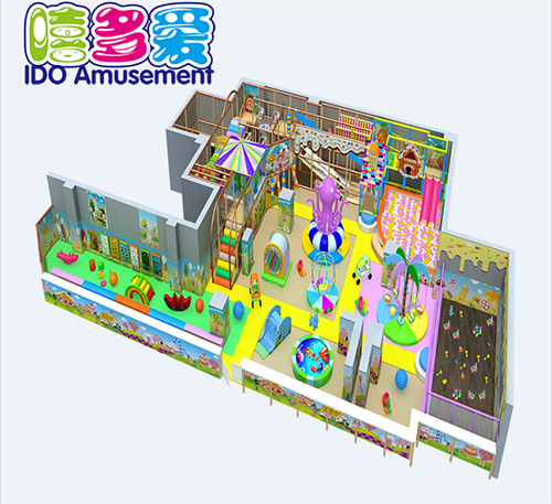commercial safe used kid soft play equipment indoor playground