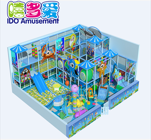 commercial safe used kid naughty castle indoor playground