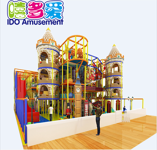 commercial environmental mcdonalds children soft play indoor playground
