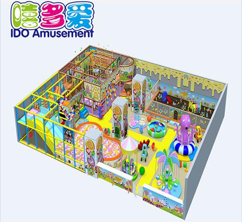 commercial environmental mcdonalds children naughty castle indoor playground