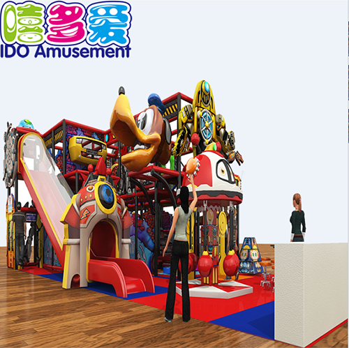 commercial environmental shopping mall toddler soft play indoor playground