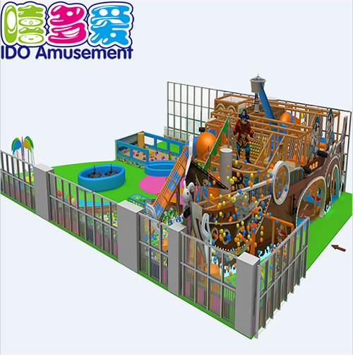commercial plastic mcdonalds children soft play indoor playground