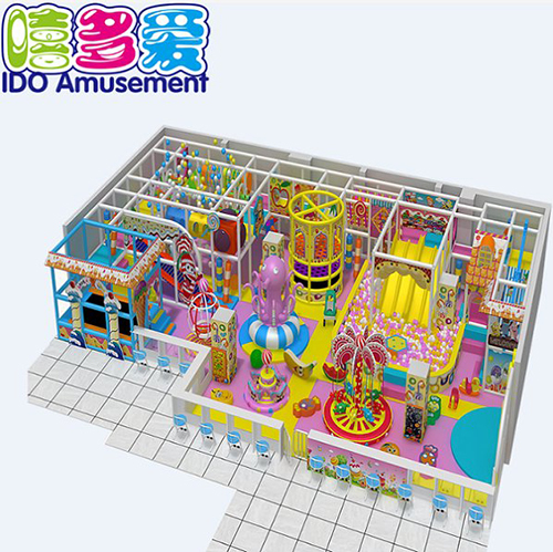 commercial plastic mcdonalds toddler soft play equipment indoor playground
