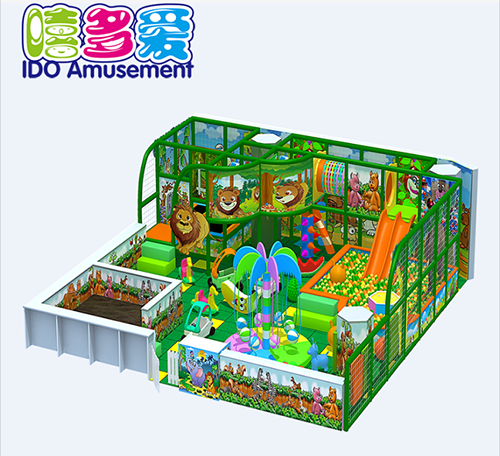 commercial plastic mcdonalds toddler naughty castle indoor playground