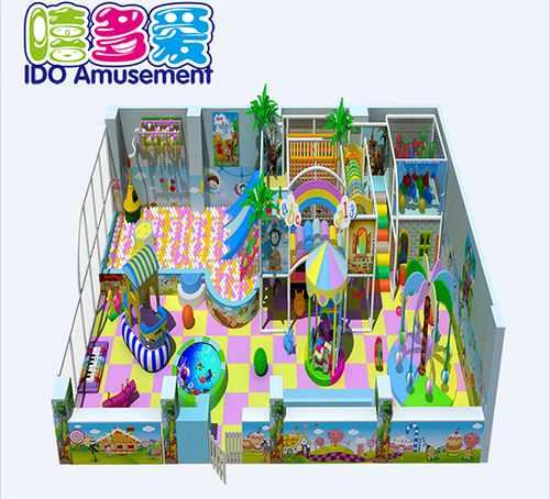 commercial plastic shopping mall kid soft play indoor playground