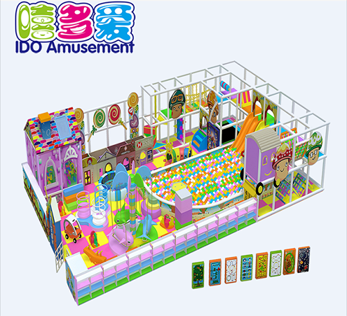 commercial plastic shopping mall kids soft play indoor playground