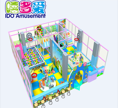 commercial plastic shopping mall toddler soft play indoor playground