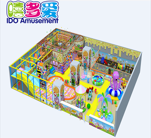 commercial plastic kindergarten children soft play equipment indoor playground