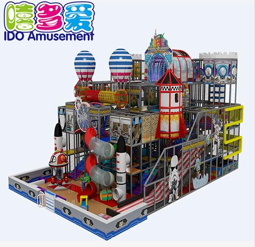 commercial plastic kindergarten toddler soft play indoor playground