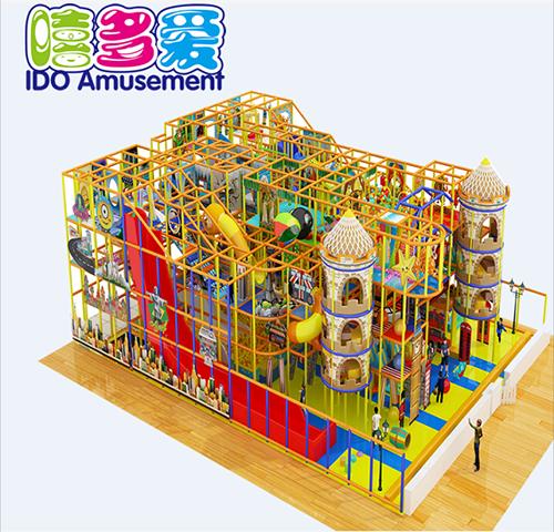 commercial plastic kindergarten toddler soft play equipment indoor playground