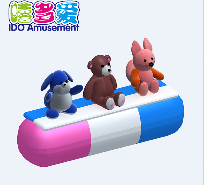 commercial environmental small children naughty castle indoor playground