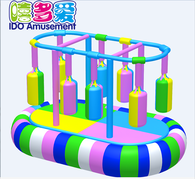 commercial environmental used kids soft play equipment indoor playground