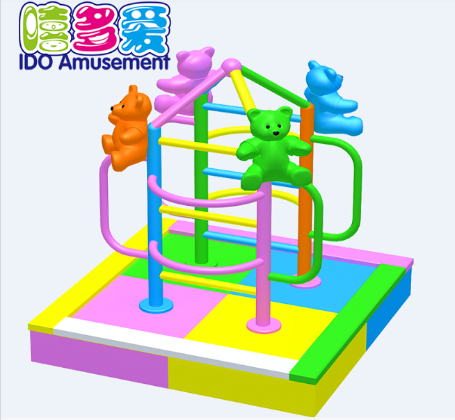 commercial plastic used children soft play indoor playground