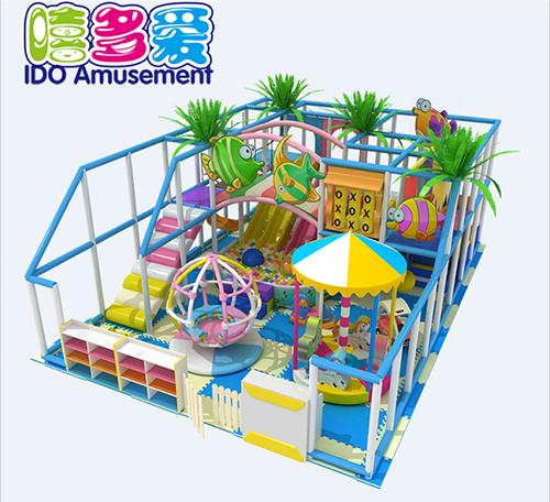 commercial colorful kindergarten children naughty castle indoor playground
