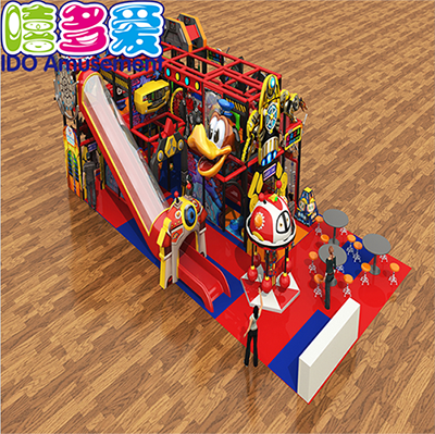 commercial colorful kindergarten kid naughty castle indoor playground