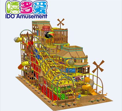 commercial colorful kindergarten kid soft play equipment indoor playground