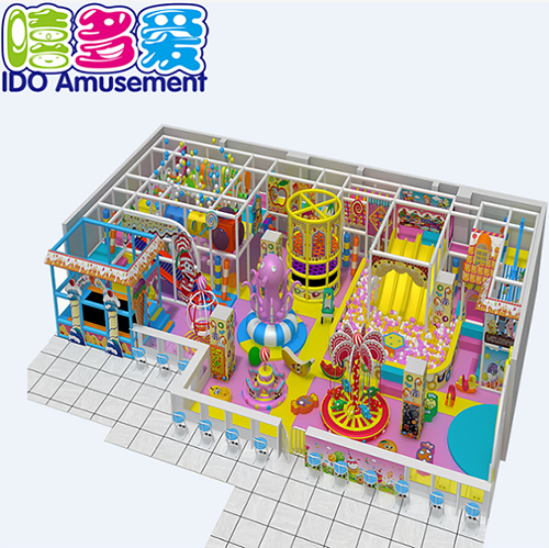 commercial colorful mcdonalds kid naughty castle indoor playground